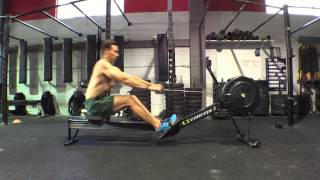Dark Horse Rowing | Learn to Row - Cut the Cake Drill Arms & Body only