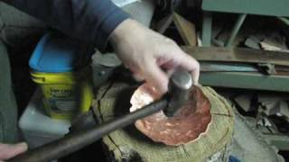 Raising a Copper Vessel, Start by Sinking
