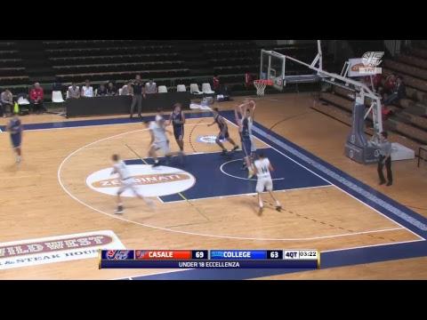Under 18 Eccellenza   Novipiù Junior Casale - College Basketball LIVE