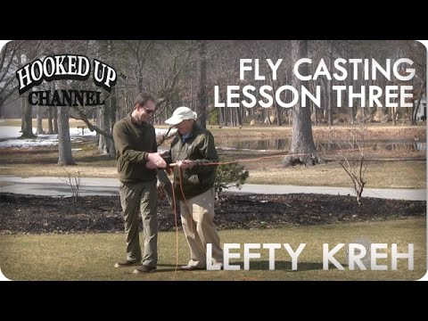 Lefty Lesson 3: Lefty Kreh On Fly Casting Tips | Fly Fishing | Hooked Up Channel