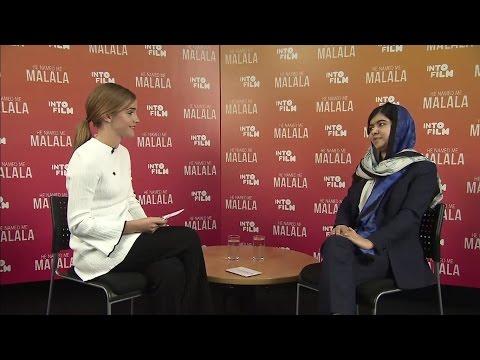 Emma Watson interviews Malala Yousafzai Nobel Peace Prize