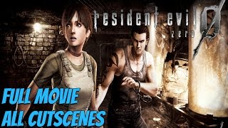 Resident Evil Zero HD Remaster - All Cutscenes / Full Movie (Remastered)