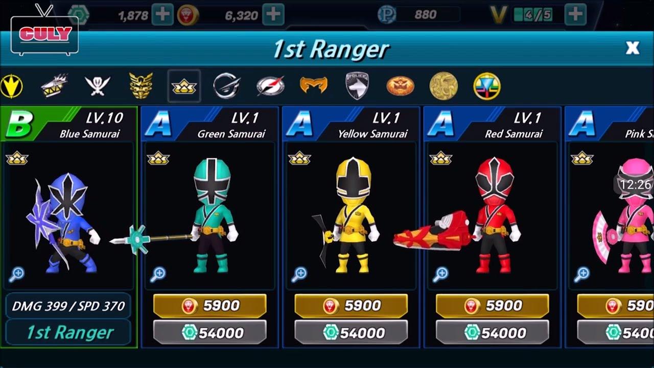 Siêu nhân thần kiếm đánh quái vật game power rangers dash shinkenger cu lỳ chơi game funny