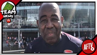 Arsenal V Crystal Palace LIVE Starting 11