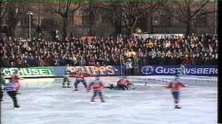 Hammarby IF Bandy - Edsbyns IF 3 - 3 1995/96