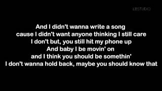 Gambar cover Love Yourself-Justin Bieber (Lyrics)