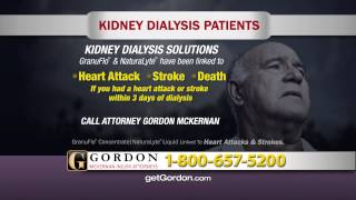 GranuFlo and NaturaLyte | Get Gordon McKernan Injury Attorneys