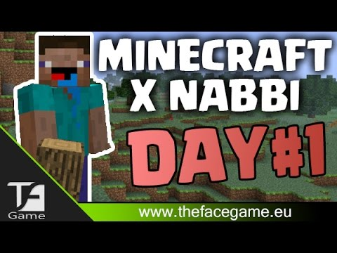 MINECRAFT x NABBI Giorno 1(Hardcore 2 WebCam)