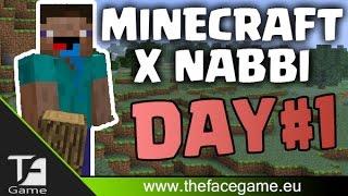 MINECRAFT x NABBI Giorno 1(Hardcore 2 WebCam)