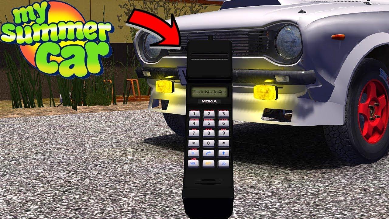 MOBILE PHONE - MOKIA TOWNSMAN - My Summer Car #158 (Mod)