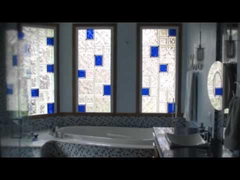 Designing Unique Glass Block Windows -- Framed & Unframed