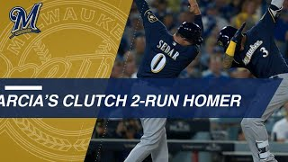 Arcia blasts clutch 2-run home run
