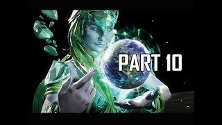 MORTAL KOMBAT 11 Walkthrough Part 11 - Cetrion (MK11 Story Let's Play Commentary)