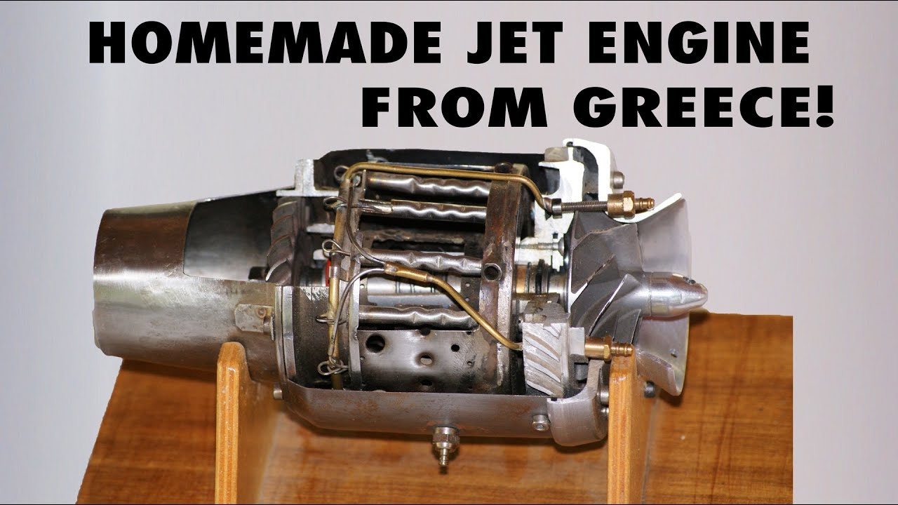 Homemade Jet Engine on a Glider by Panagiotis Sofos