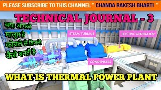 WHAT IS COAL BASED THERMAL POWER PLANT AND HOW IT WORKS