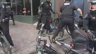 Protesters take to Seattle and Bellevue streets on Sunday