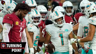 In week 9, kyler murray had victory his grasp, but the miami dolphins defense stepped up to leave arizona cardinals speechless.subscribe nfl films:...