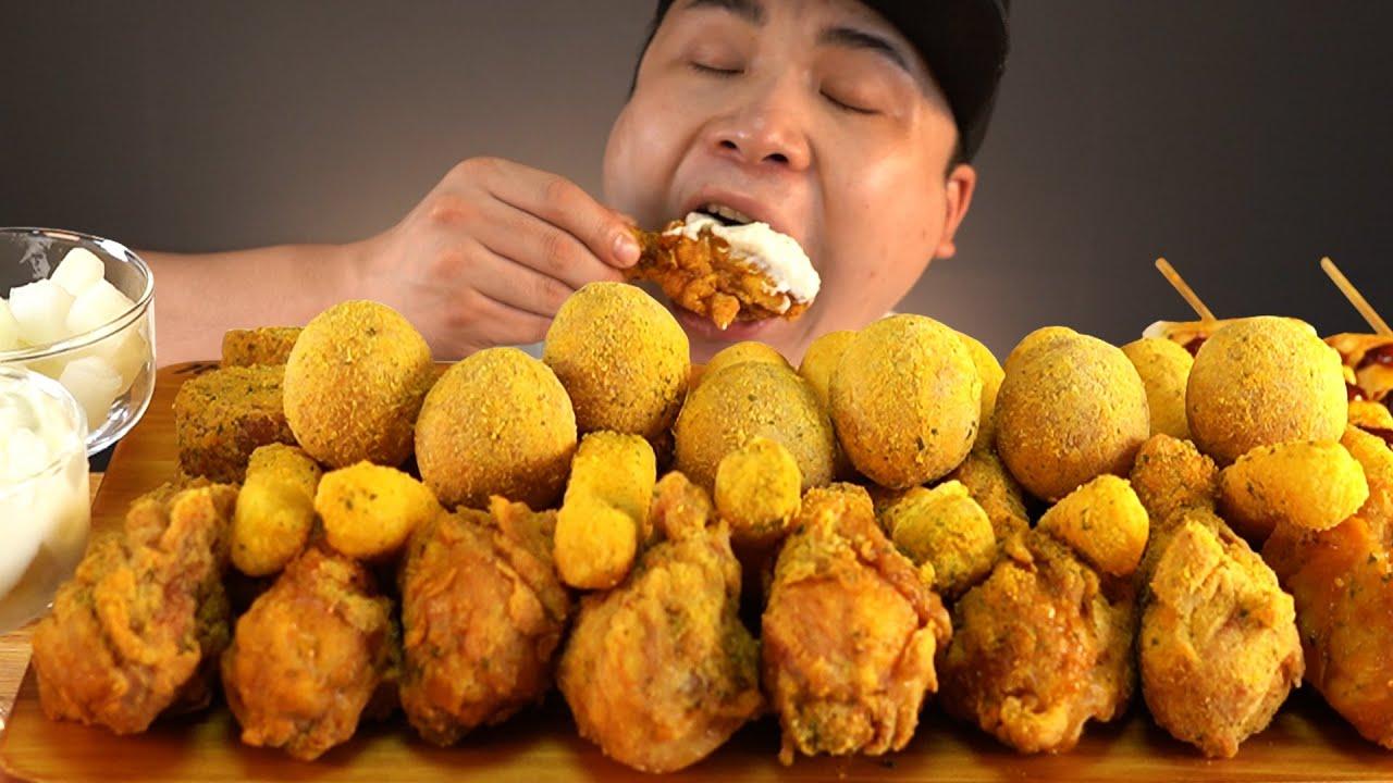뿌링클특집!! 뿌링클의 모든것들 먹방~!! 리얼사운드 ASMR social eating Mukbang(Eating Show)
