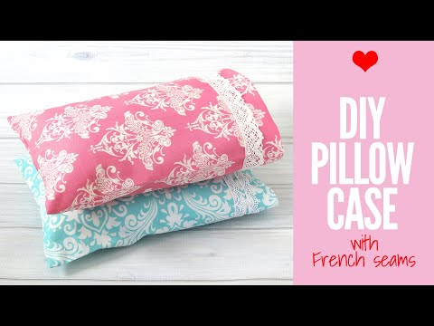 How to Make a Pillowcase with French Seams, VERY EASY Pillowslip Tutorial