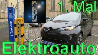 Das erste mal Elektroauto fahren im Renault Zoe
