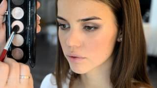 видео Красивый свадебный макияж
