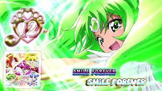 12.SMILE FOREVER SMILE FOREVER スマイルプリキュア! ボーカルベスト Smile Precure! Vocal Best 歌:井上 麻里 Vocalist: Marina Inoue.