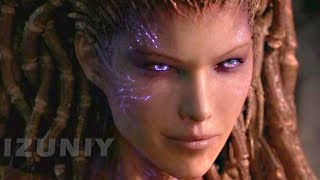 StarCraft 2 Heart of the Swarm All Cinematics Cutscenes Story Movie - SC2 HOTS