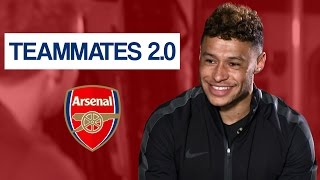 Who is the nutmeg king at Arsenal? | Alex OxladeChamberlain Teammates 2.0