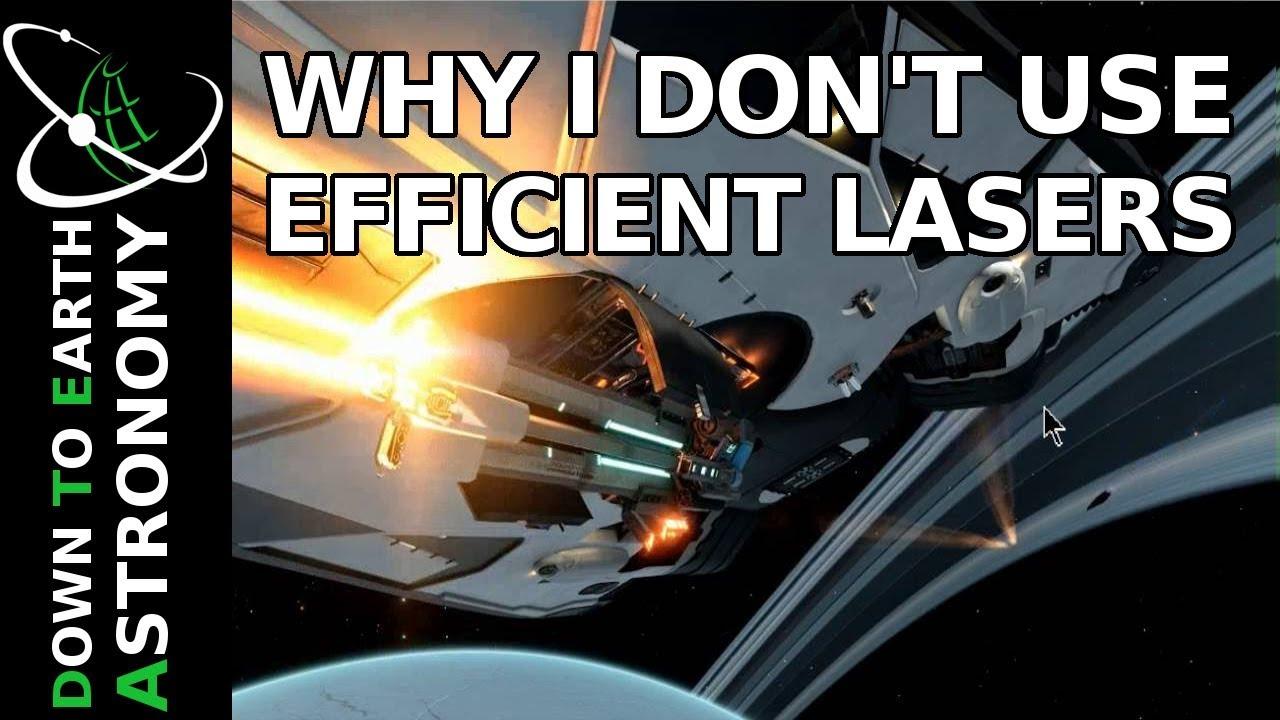 Why i dont use efficient lasers elite dangerous
