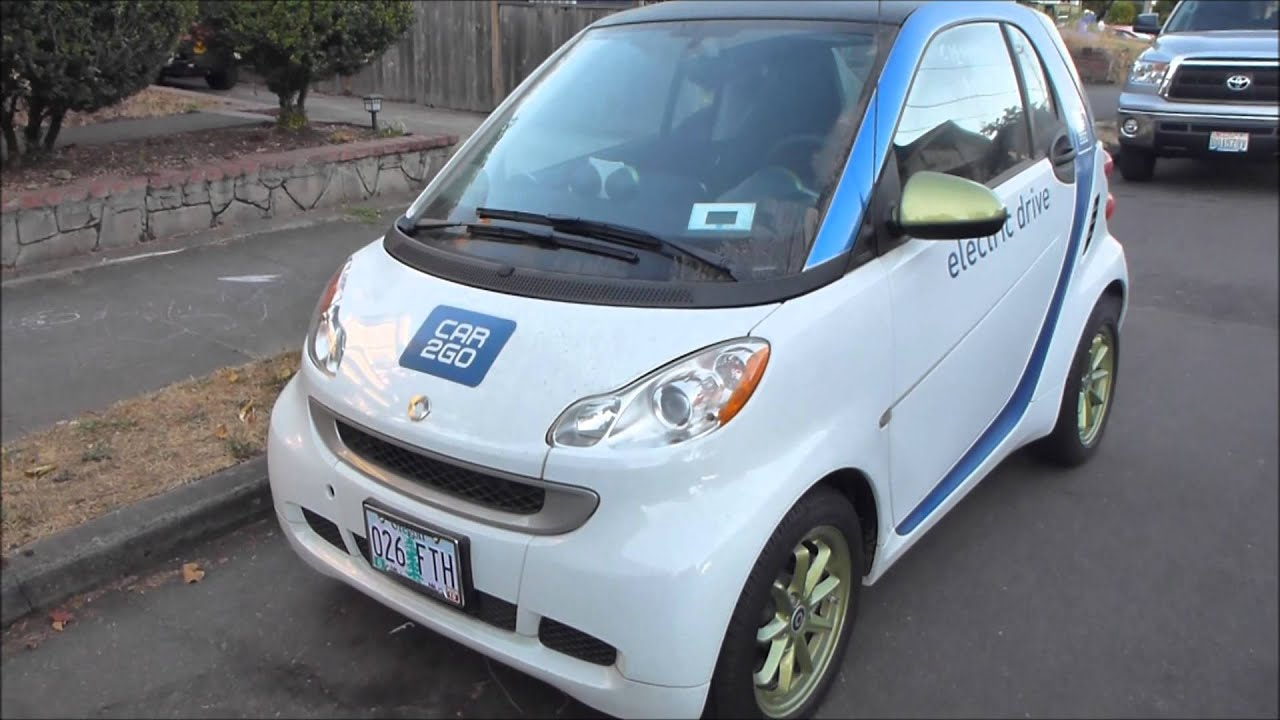 Car 2 Go Car2go Smart Ev Electric Vehicle