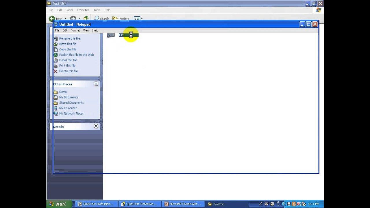 QTP   FSO   File SYstem object in QTP, UFT  QTP interview questions , QTP  Tutorials for Beginners