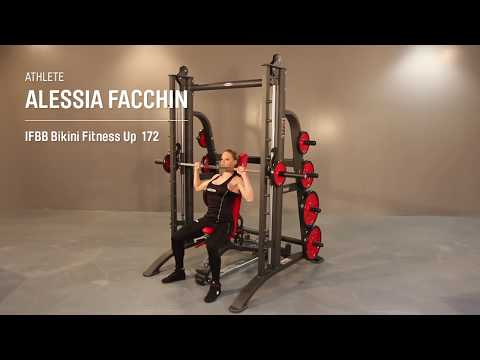 1HP120F – Smith machine full