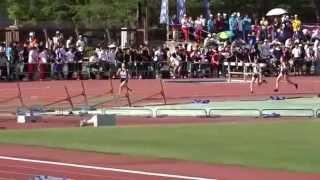 第68回大阪高等学校陸上競技対校選手権大会 女子1500m決勝 2015.05.29 ...