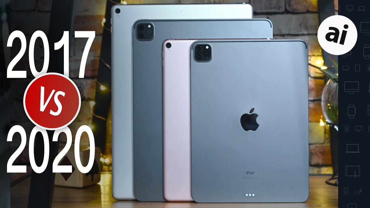 Compared: 2017 iPad Pro versus 2020 iPad Pro