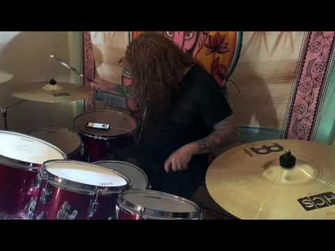 Gojira-the cell-drum cover