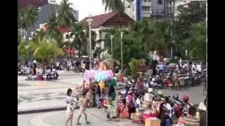 Losari Beach Pantai Losari Wisata Makassar South Sulawesi Indonesia