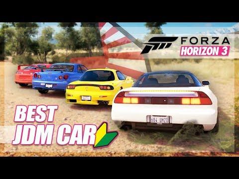 Forza Horizon 3 - Best JDM Challenge! (GTR, NSX, RX7, Supra)