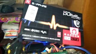 Майнинг Etherеum на Sapphire Pulse RX 570 4gb