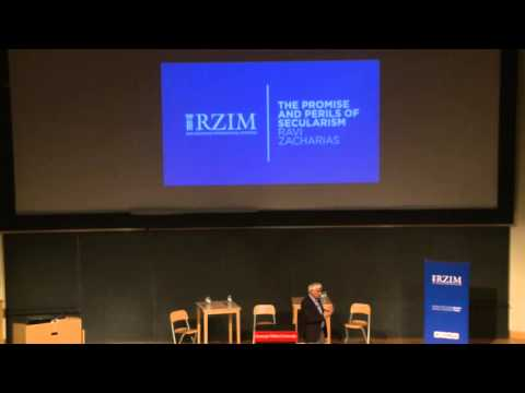 The Promise & Perils of Secularism: Lecture by Ravi Zacharias @ CMU