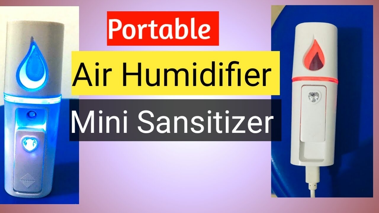 Air Humidifier portable | sansitizer
