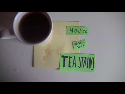 How to deal with tea stains | Flying Fish