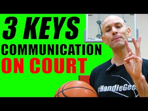 Basketball Tips: How To COMMUNICATE With Teammates IN GAMES!