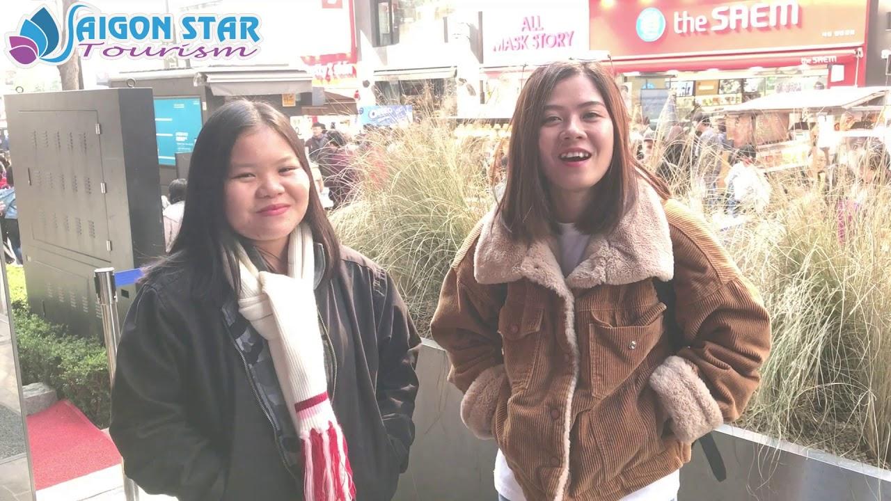 [REVIEW] Du Lịch Hàn Quốc 28/03/2019 – SaigonStarTourism