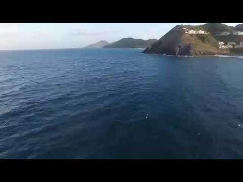 St Kitts Drone Flight