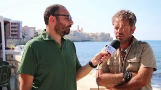 L'erosione della spiaggia e il fenomeno della sabbia nera sul lungomare di Levante, intervista a Pasquale Salvemini