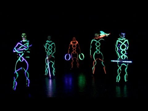 Ardor Viridis - UV/Light Show Promo