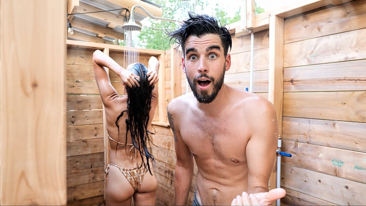 Building an Outdoor Shower in 72 Hours