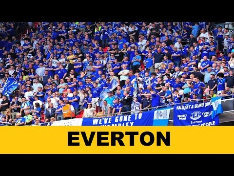Everton [Fan Chant] | Banks Of The Royal Blue Mersey