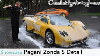 Pagani Zonda S Roadster - Full Correction Detail by Cambridge Autogleam