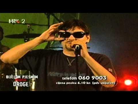 Dino Dvornik - Live (Bijelom pjesmom protiv droge)